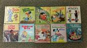 Lot of 52 Various Little Golden Books Vintage to Newer, Disney, Bozo, Oz, etc